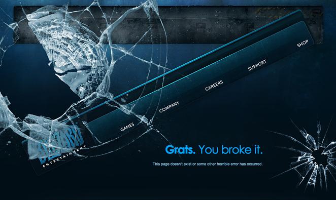 Error 404 Blizzard