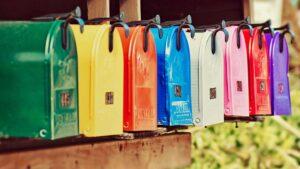 mailboxes color