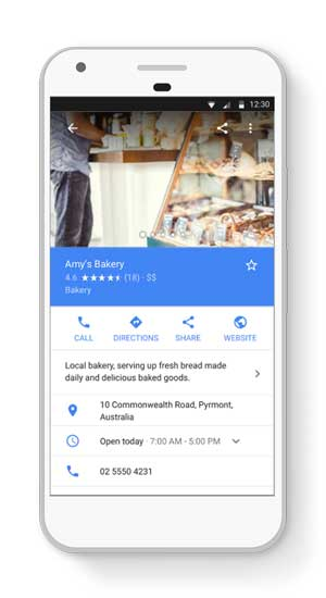 mobile google my business